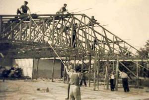 Geschichte_1960_Neubau des Bootshauses