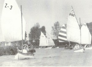 Geschichte_1970_Ladesmeisterschaften der Kleinsegelkanus